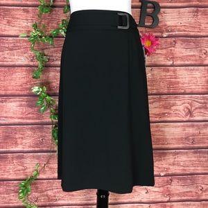 Style & Co Skirt Plus 18 Black Straight Stretch